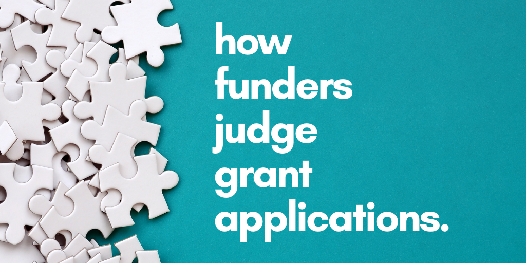 How Do Funders Judge Grant Applications?